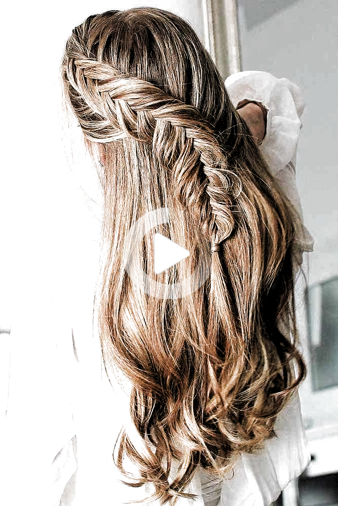 Hairstyle For Long Thick Hair Everyday Hairstyle Long Hair Everyday Hairstyle Hairstyle Long Thick Hair Styles Hair Styles Long Thick Hair