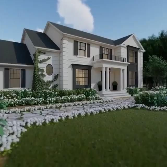 Easy Home Decorating Ideas #modernfarmhouseexterior