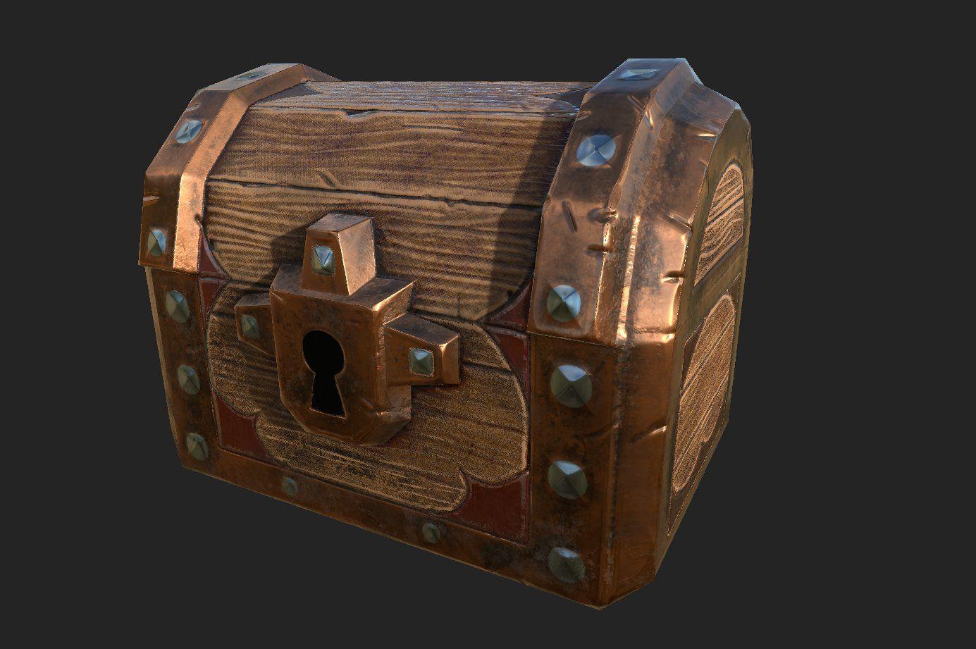 Chests Fantasy Pbr Pbr Fantasy Texture Packs