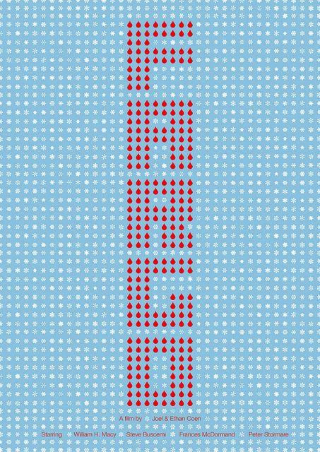 Fargo (1996) by Viktor Hertz #movieposters #posters #minimalmovieposters #alternativemovieposters #posterdesign #90smovies #1996 #1996movies #viktorhertz
