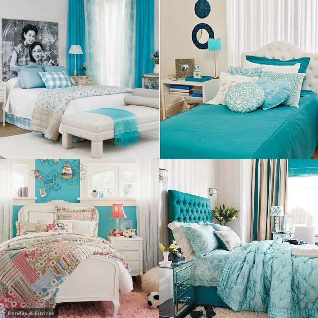 Azul turquesa azul turquesa pinterest turquesa azul for Habitacion azul turquesa