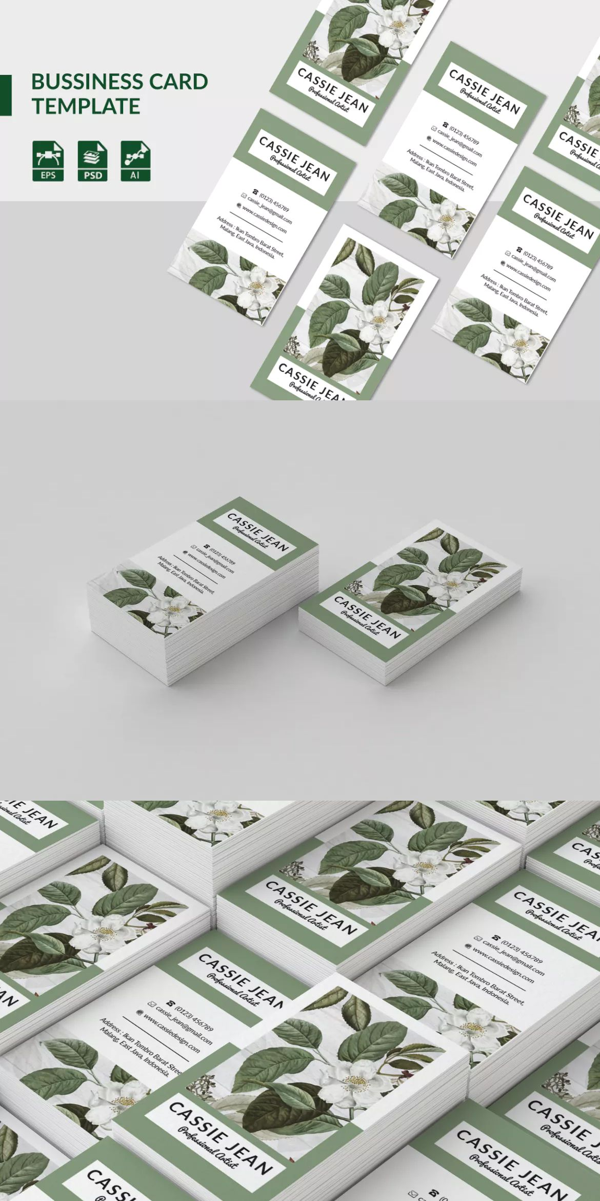 Business Card By Yip87 On Envato Elements Download Business Card Business Card Template Business Card Graphic