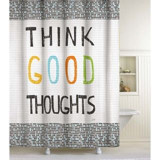 Think Good Thoughts Shower Curtain