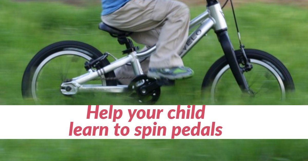 Parent Help My Child Is A Balance Bike Master But Struggles With