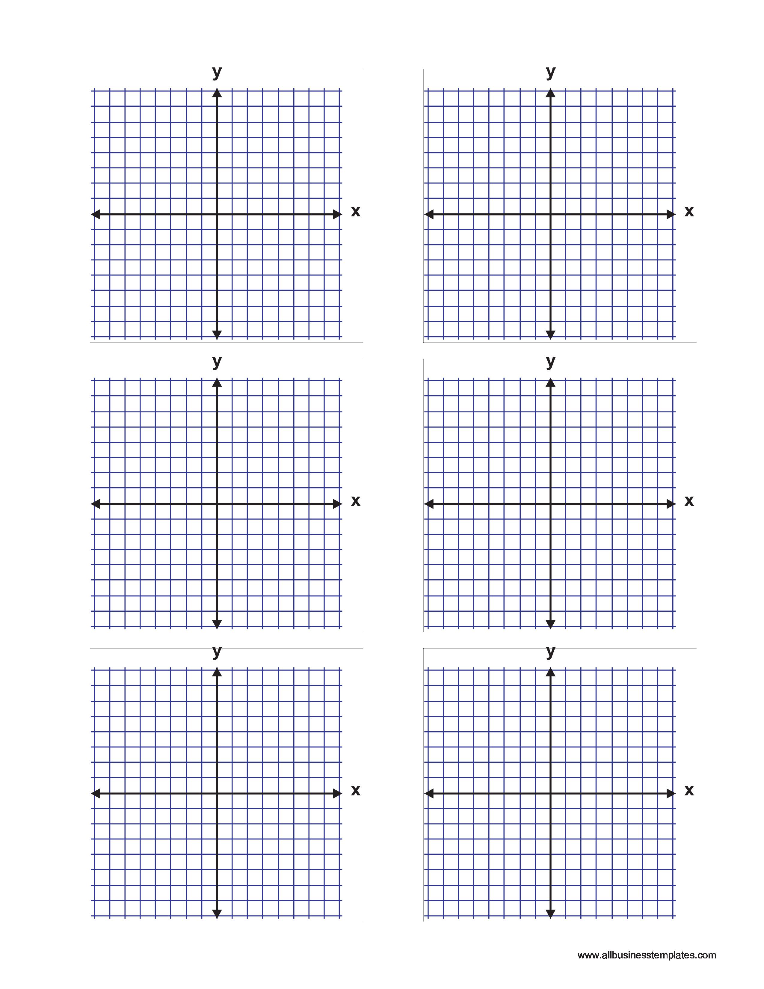 Rectangular Graphs Paper