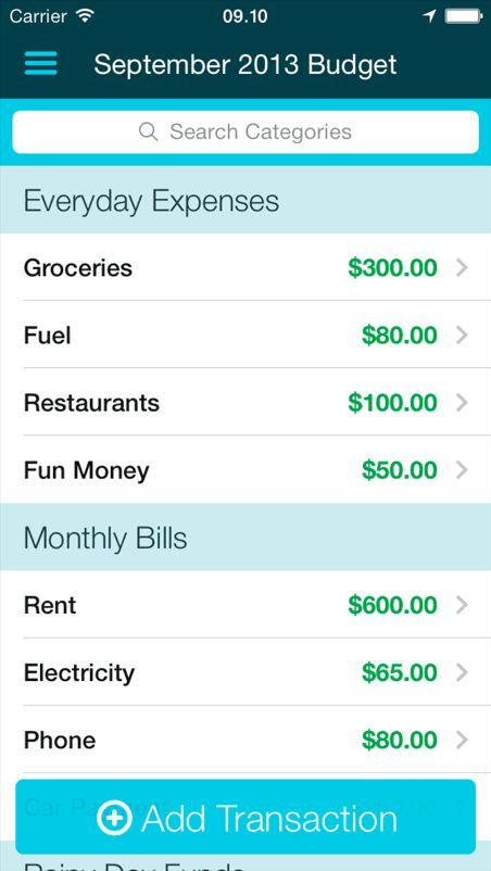 nice YNAB for iPhone and Android - You Need A Budget Software For - employee payslip template excel