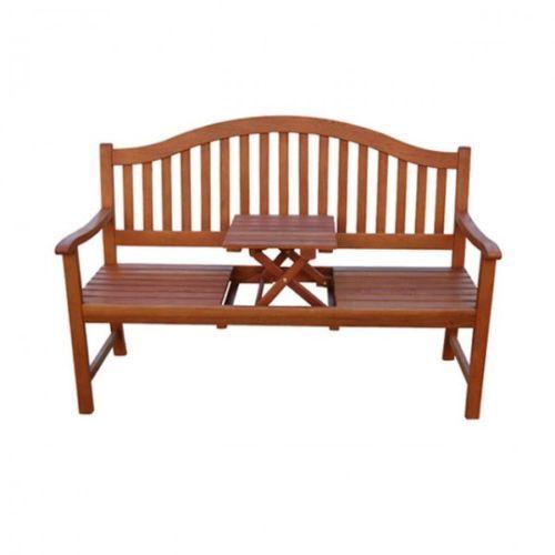 3 Sitzer Gartenbank Phuket Eukalyptus Holz Bank Mit Tisch Sitzbank