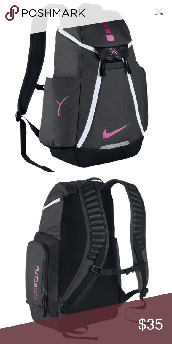 16058991da7 ... Pink Nike Elite Backpack Pink Nike Elite Backpack! Only used a few  times and realized ...