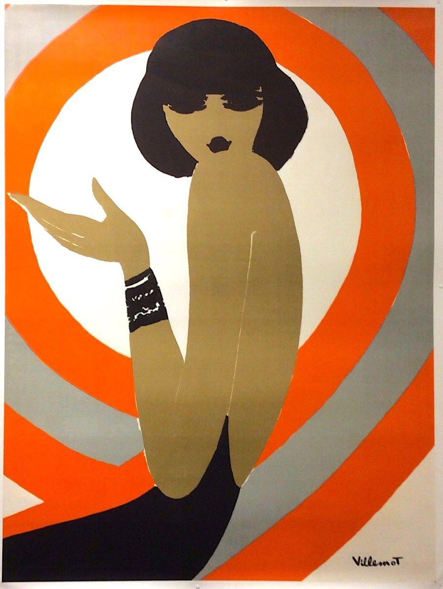 Parly 2 Villemot Original Vintage Poster Manifesti Originali D Epoca Www Posterimage It Stampa Poster Poster Vintage Poster Artistico
