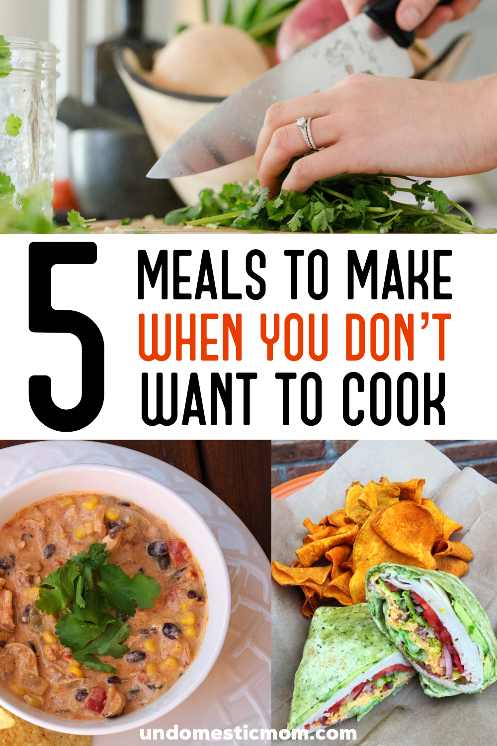 5 Meals to Make When You Don't Want to Cook images
