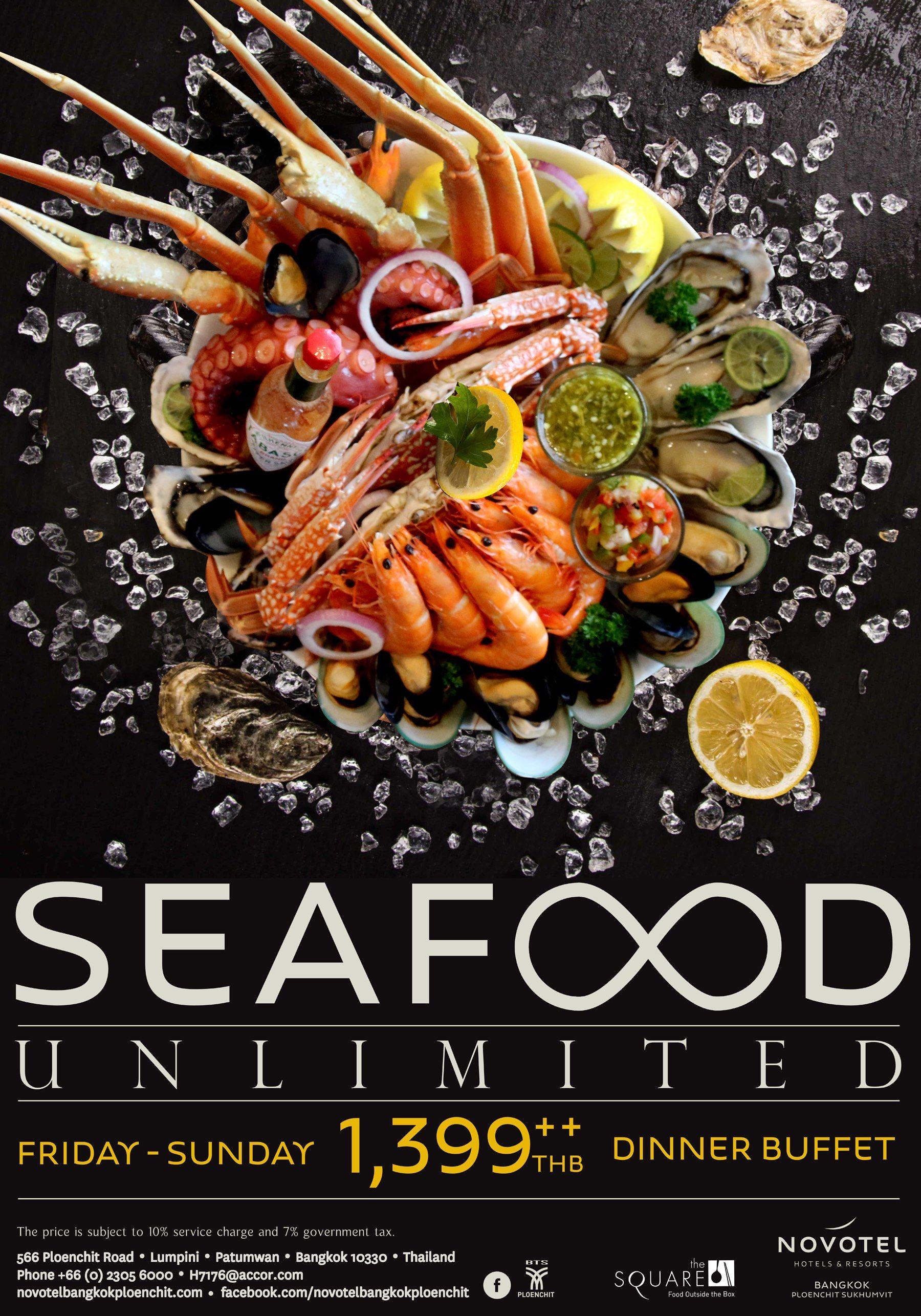 'Seafood Unlimited' ซีฟู้ดรูปแบบใหม่ที่โนโวเทล กรุงเทพ เพลินจิต สุขุมวิท - http://www.prbuffet.com/seafood-unlimited-%e0%b8%8b%e0%b8%b5%e0%b8%9f%e0%b8%b9%e0%b9%89%e0%b8%94%e0%b8%a3%e0%b8%b9%e0%b8%9b%e0%b9%81%e0%b8%9a%e0%b8%9a%e0%b9%83%e0%b8%ab%e0%b8%a1%e0%b9%88%e0%b8%97%e0%b8%b5/