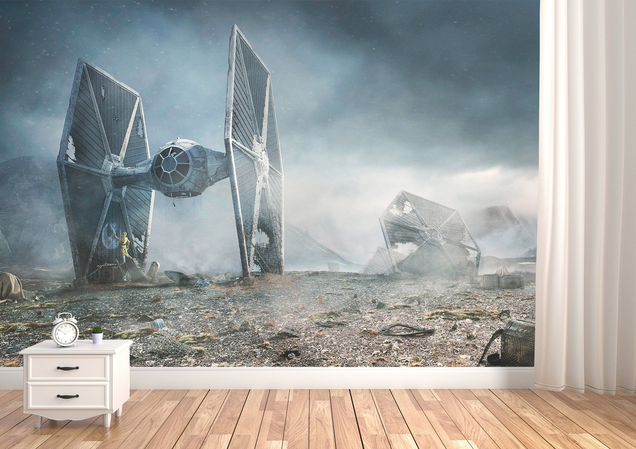 Star Wars Wallpapers Star Wars Mural Star Wars Prints Star Etsy In 2020 Star Wars Mural Star Wars Wallpaper Star Wars Prints