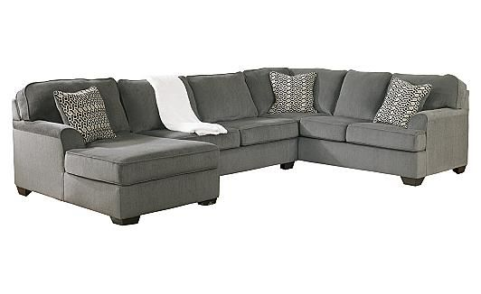 Loric Smoke Sectional This Is Our New Couch For The