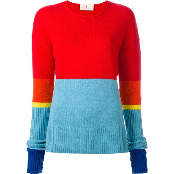 color-blocked sweater - Blue Ports 1961 Fake Cheap Online Cheap Sale Exclusive Buy Cheap Largest Supplier zQbfoCW8Nl