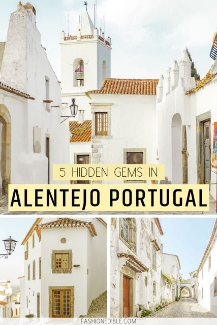 5 Towns You Cannot Miss in the Alentejo Region of Portugal #portugal