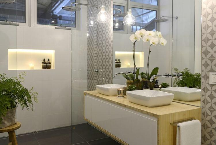 Beispiele für Badezimmer Fliesen \u2013 35 originelle Inspirationen - badezimmer fliesen beispiele