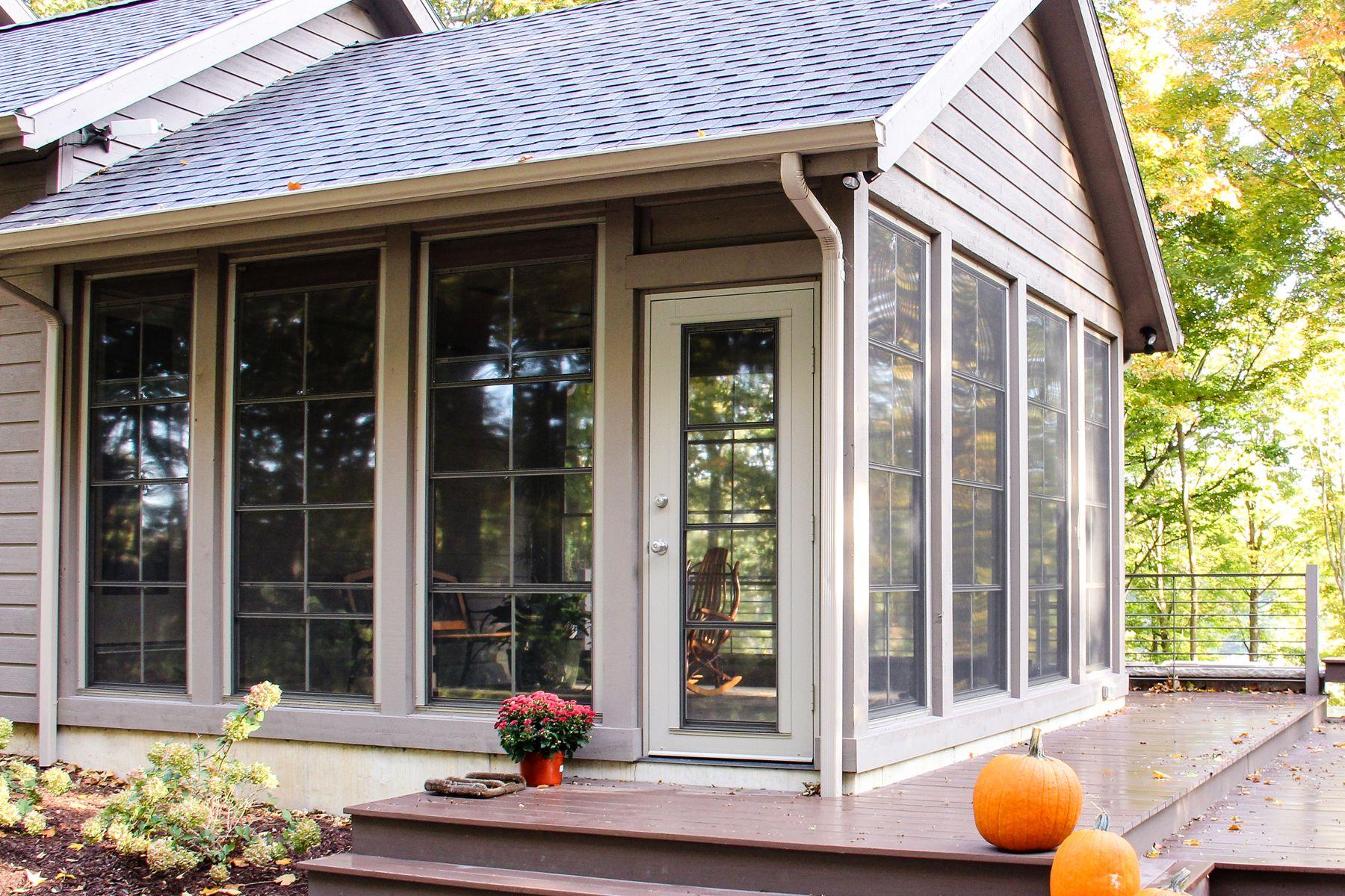 Ordinaire Patio Enclosures · Brand New Porch By Martin Bros. Contracting, Inc.,  Window Enclosures By Raber
