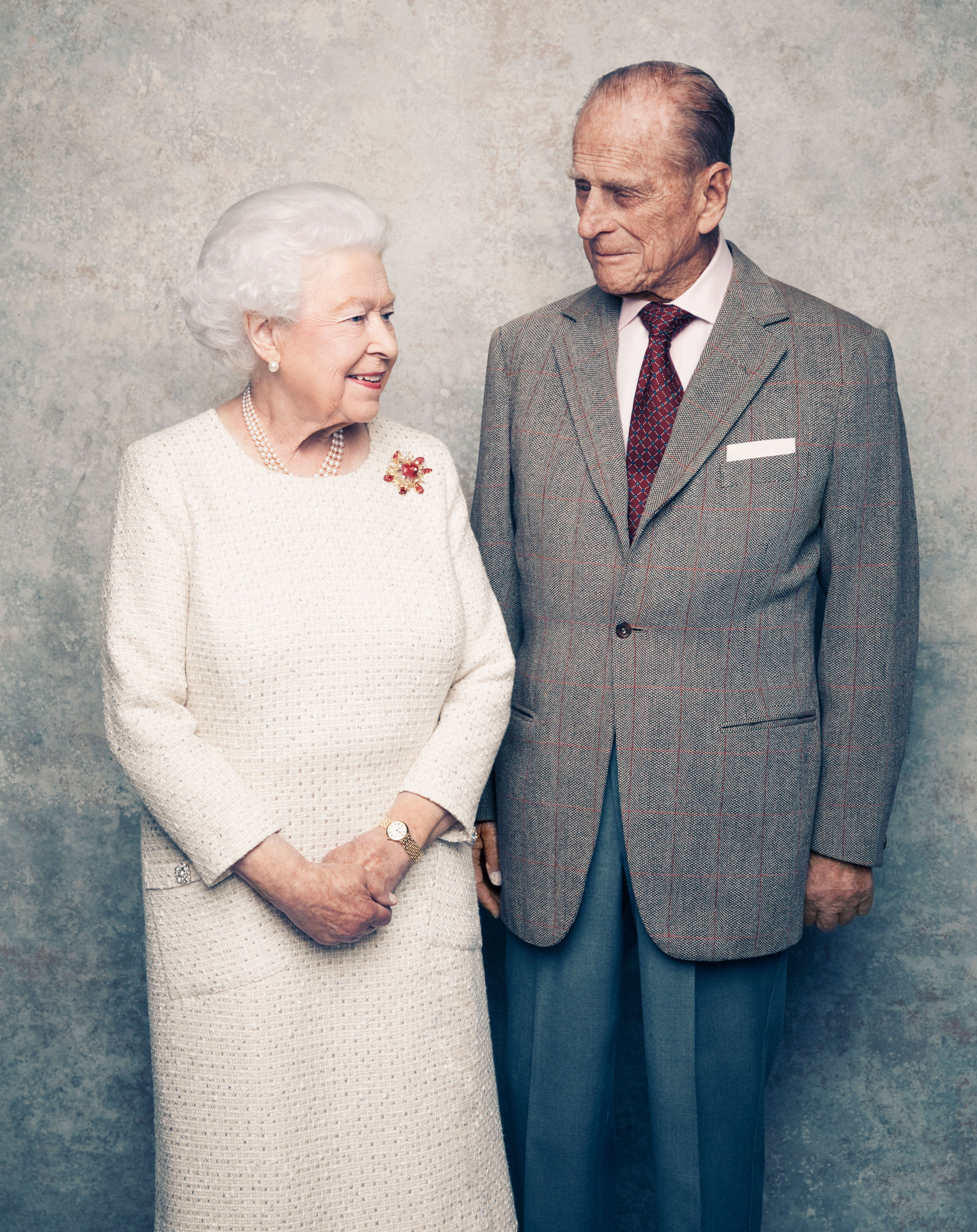 A Look Back At Queen Elizabeth And Prince Philip S 70th Anniversary