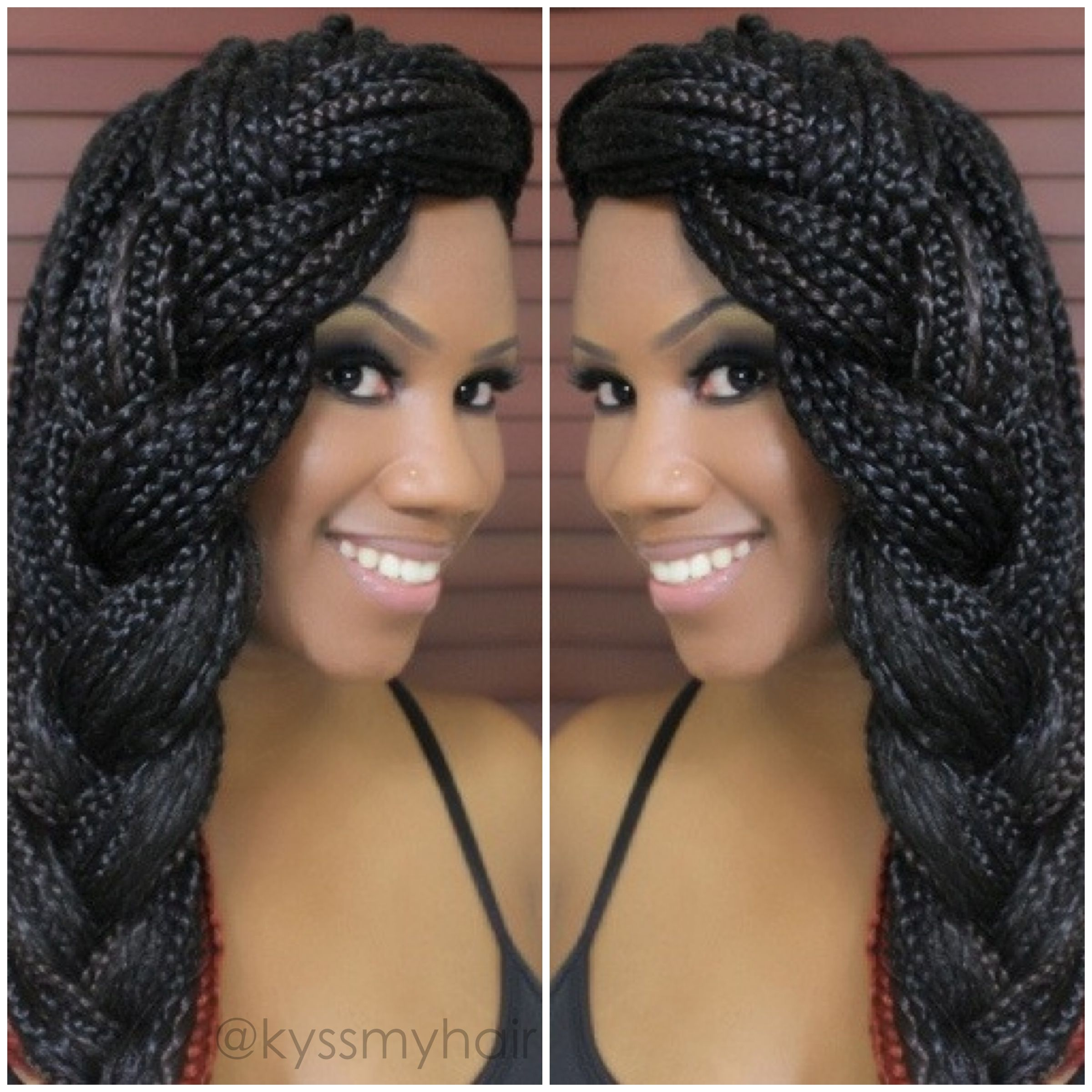 17+ best images about box braid hairstyles on pinterest   box