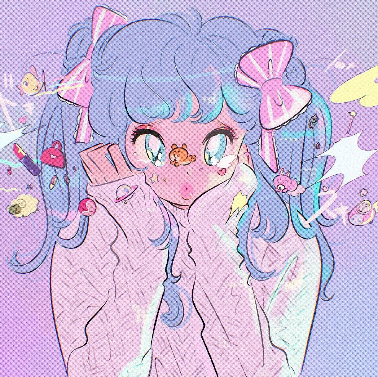 Pink Aesthetic Pictures Anime