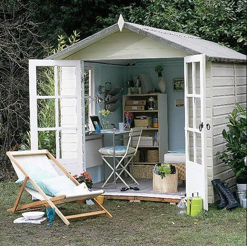 Outdoor Office | www.housetohome.co.uk/home-office/picture/o… | Flickr