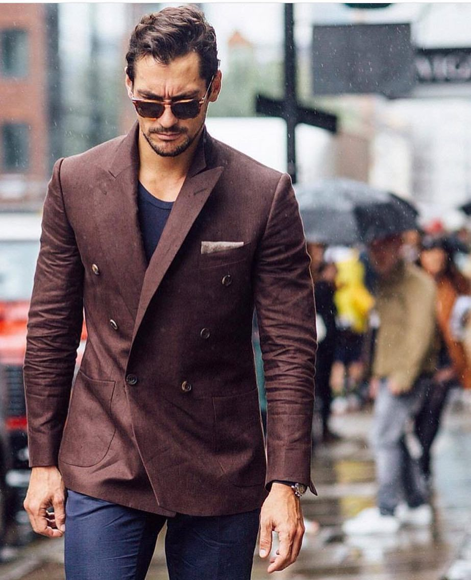 Pin by Rizwan Chaudhry on Double Breasted Suit | David ...
