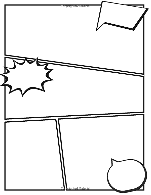 Blank Comic Bubbles Blank Comic With Speech Bubbles Book Manga Blank Comic Book Blank Comic Book Variety O Comic Bubble Blank Comic Book Comic Book Panels This tutorial shows some of the more commonly used varieties of these bubbles. pinterest