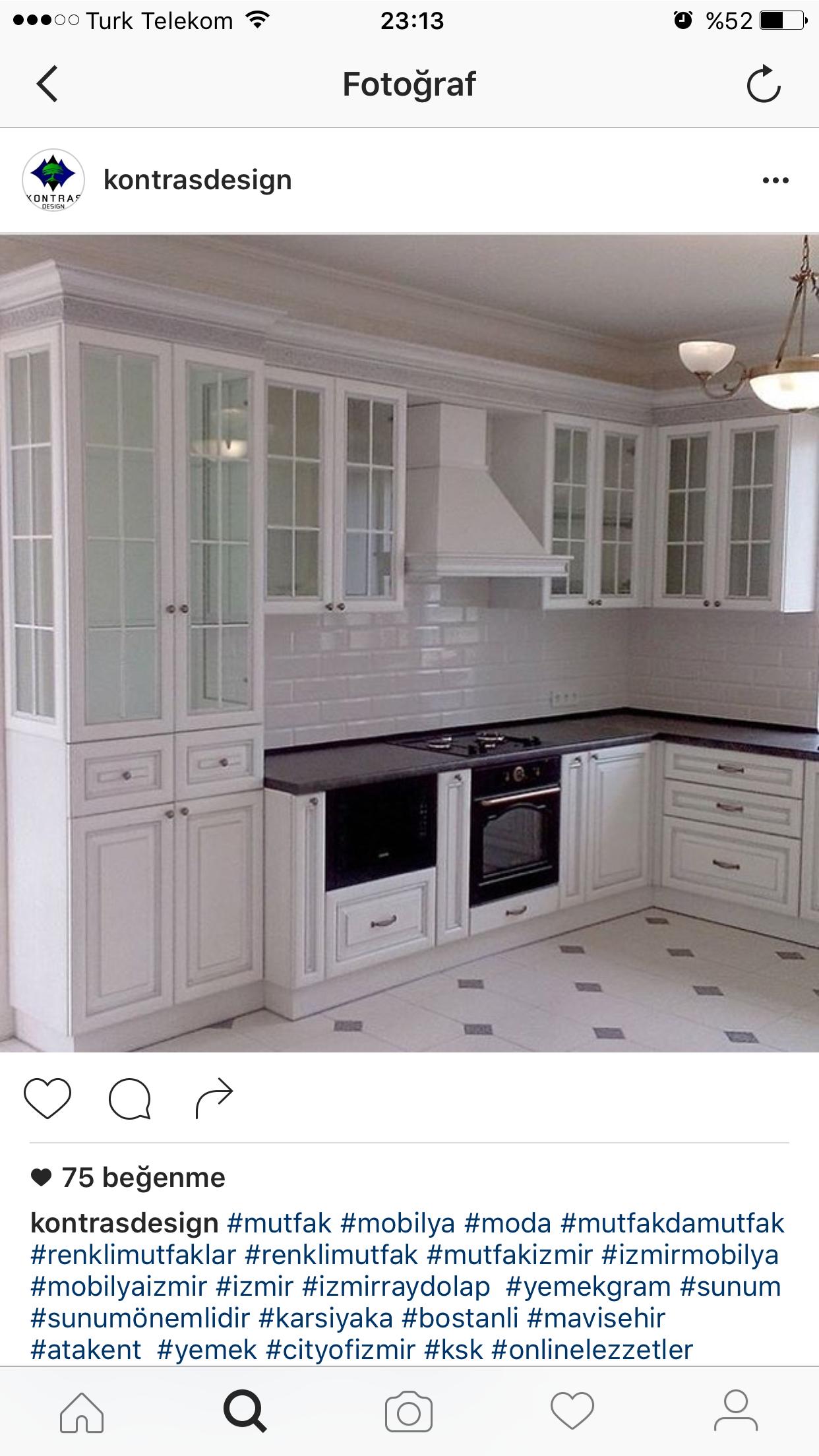 Mutfakların iç mekanları. Öz-tasarım için birkaç ipucu 39