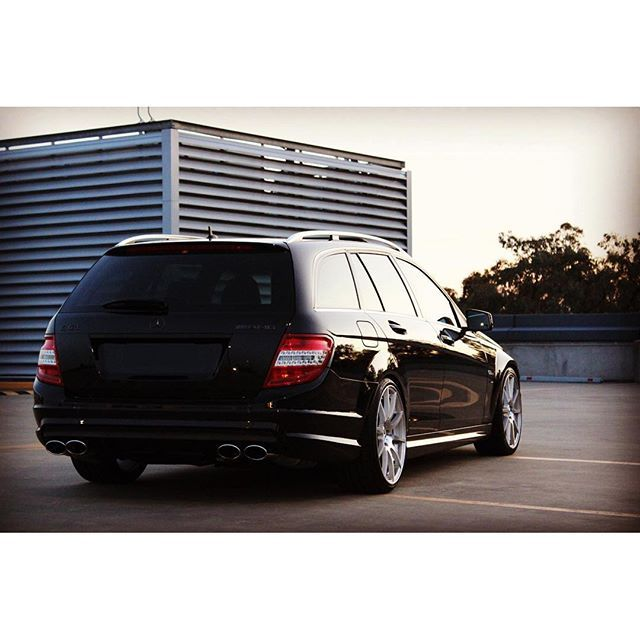 Mulpix Mercedes C63 Estate Wagon S204 W204 C204 Amg Benz