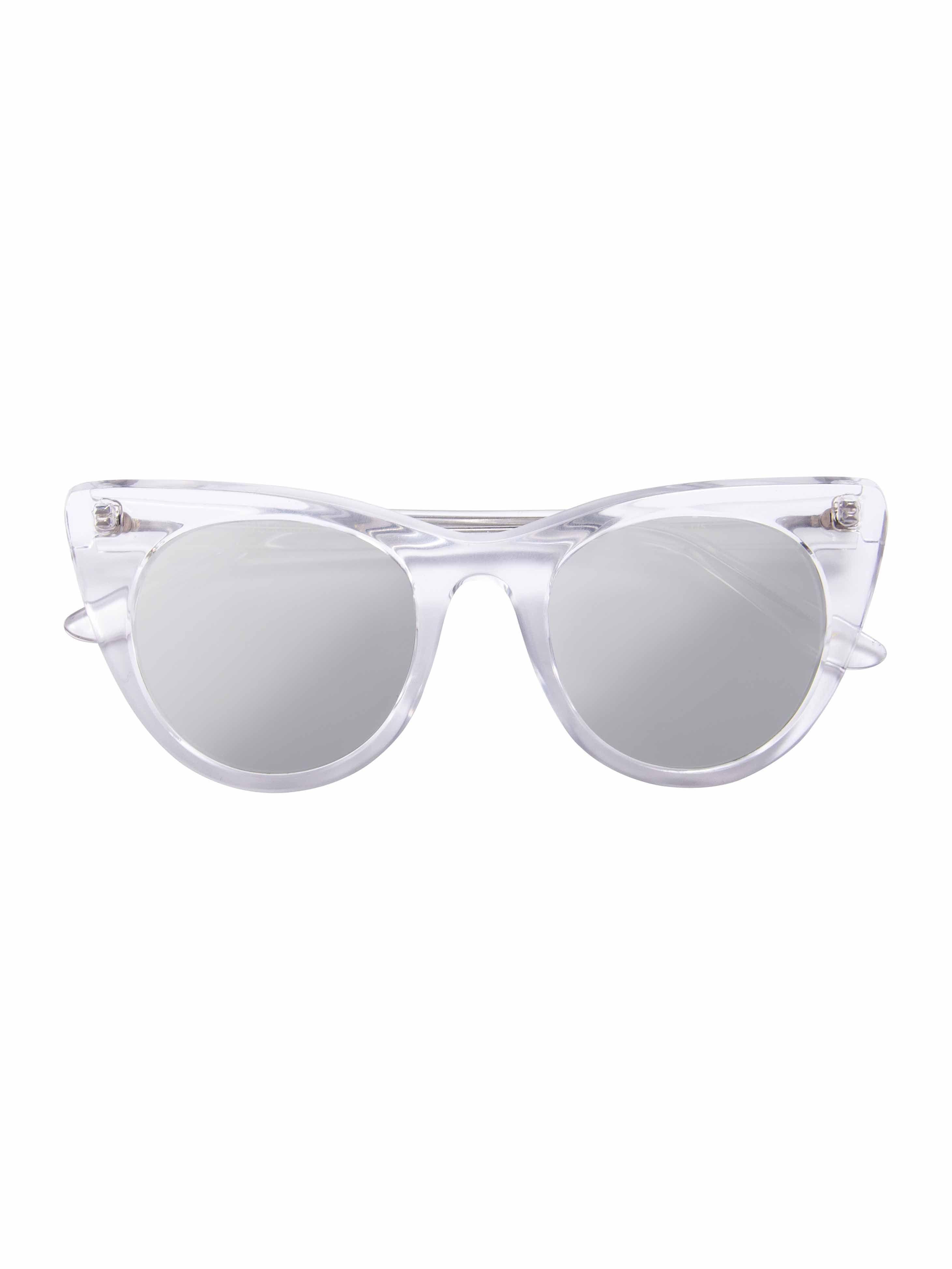 745fd9ab340dd Óculos Doshow Transparente Lente Prata   Óculos Helena Bordon Doshow Transparente  Lente Prata Material da armação
