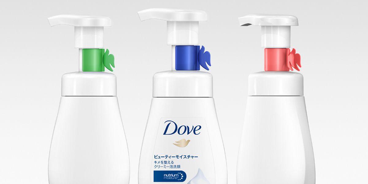 Dove Foaming Cleanser — The Dieline - Branding & Packaging Design