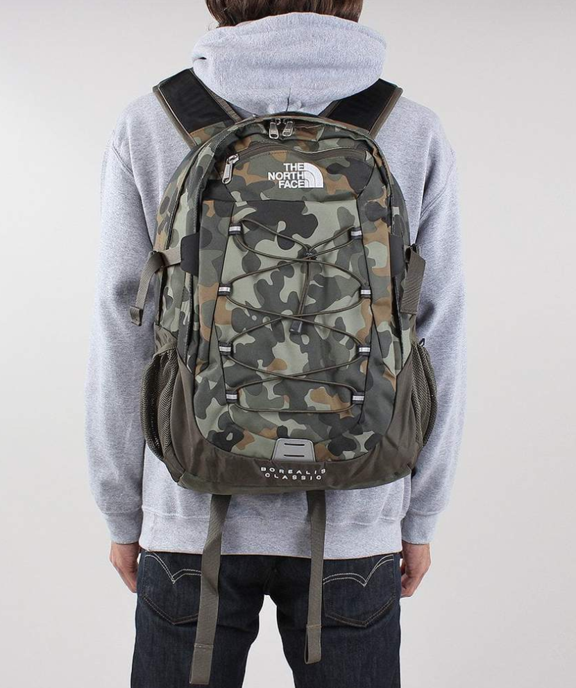 f69fa3aa158 FOR SALE: NORTH FACE Borealis Classic Backpack - New Taupe Green Camo  Rucksack T0CF9C7FU
