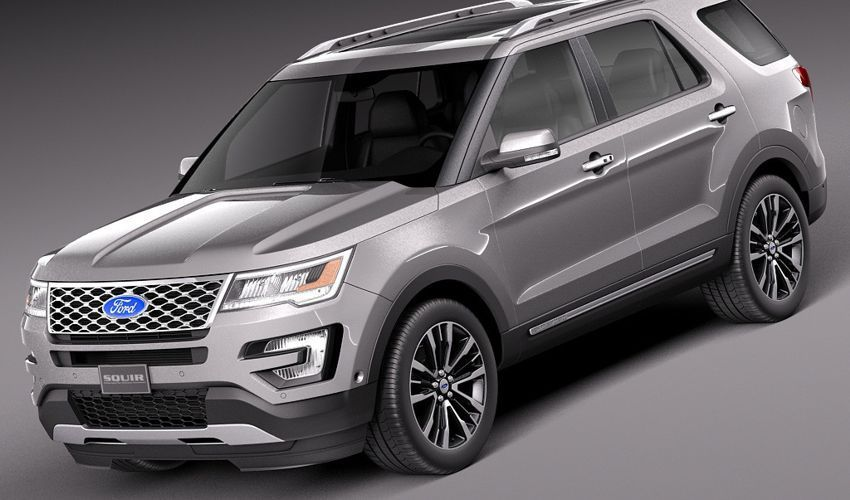 2018 Ford Explorer Redesign Price And Release Date Rumor Ford Explorer Ford Explorer Xlt Suv