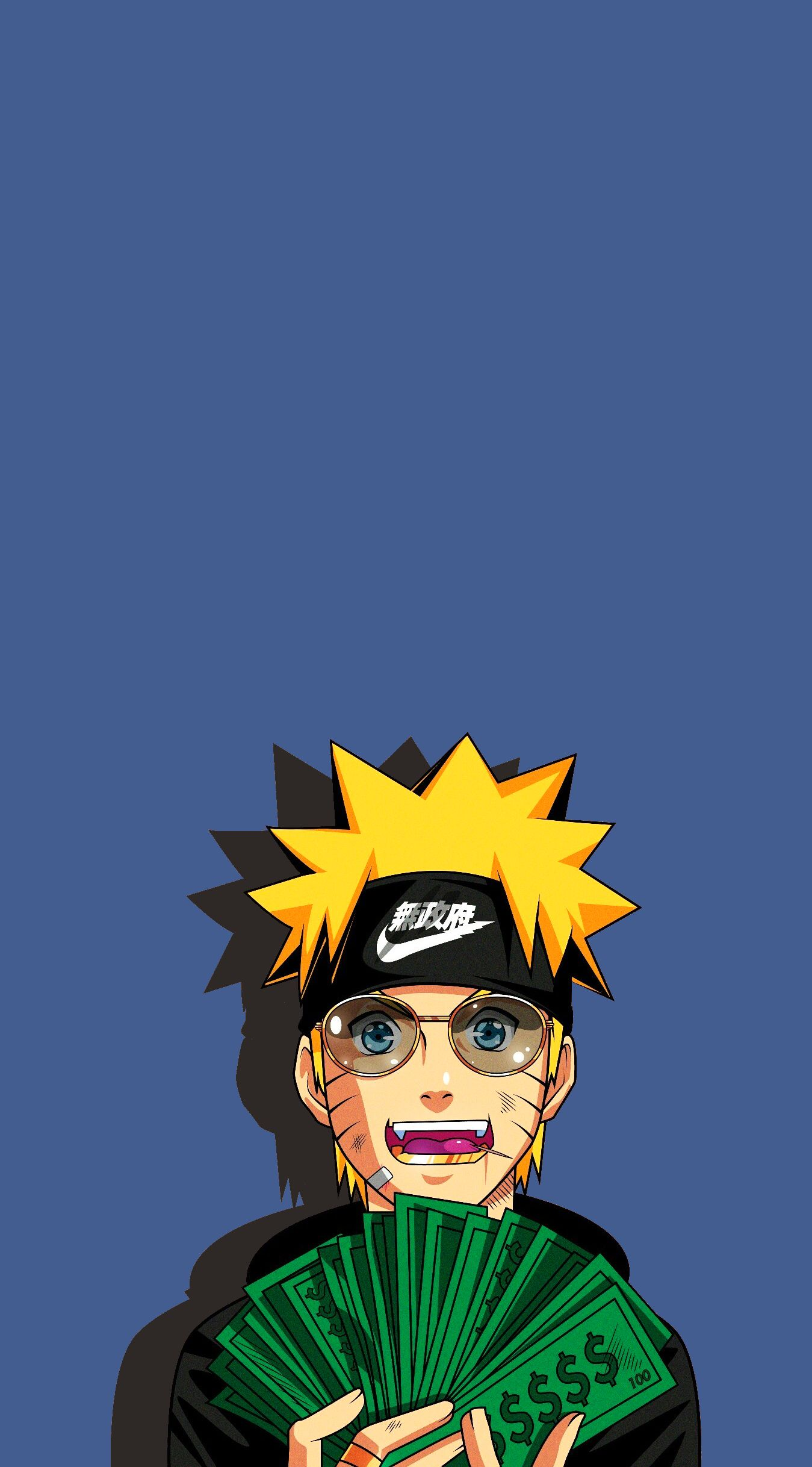 Naruto Money Iphone Wallpapers Iphone Wallpaper Dope Wallpapers