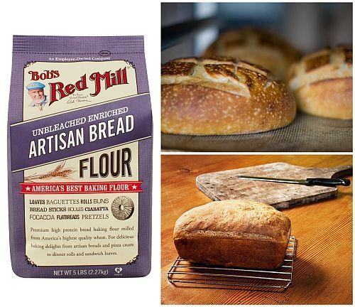 bobs red mill gluten free artisan bread recipe