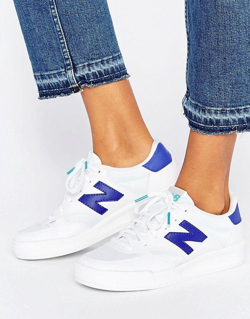 new balance 300 azul mujer