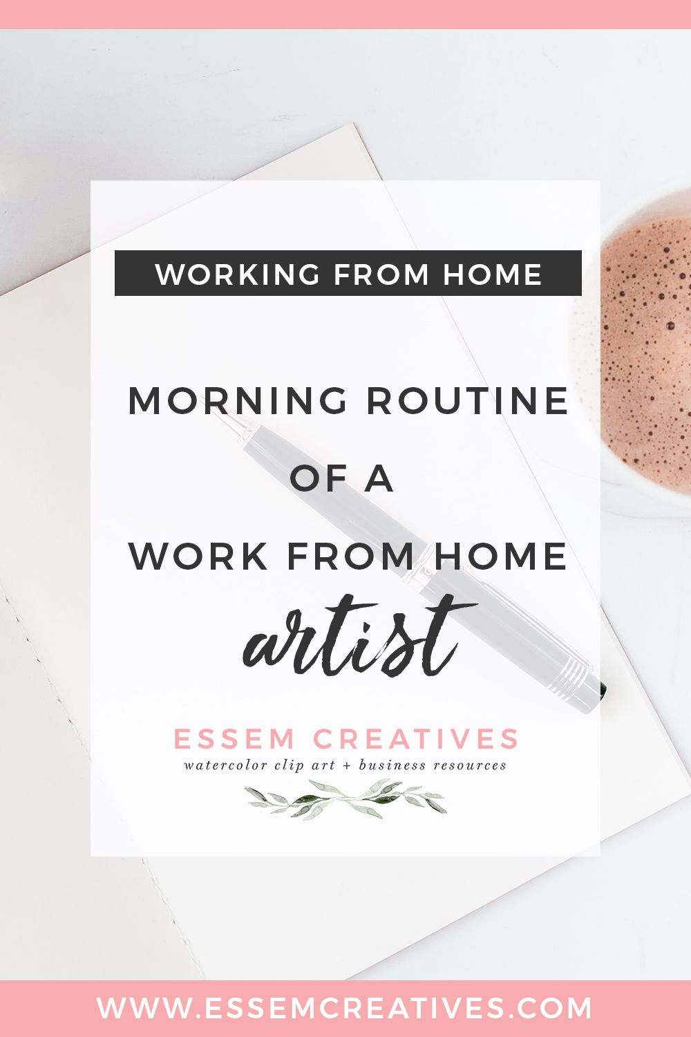 Morning routine of a work from home artist and why its