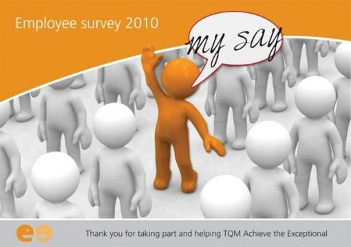 Tarmac My Say Tarmac Employee Survey Poster  Employee Engagement