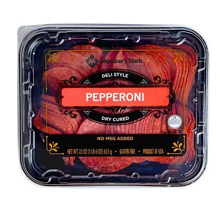 Member S Mark Pepperoni Sliced 22 Oz Sam S Club Junk Food Snacks Food Food And Drink