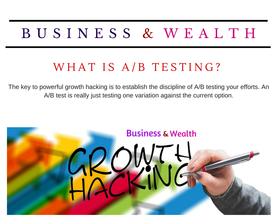 [Growth Hacking] What is A/B testing?