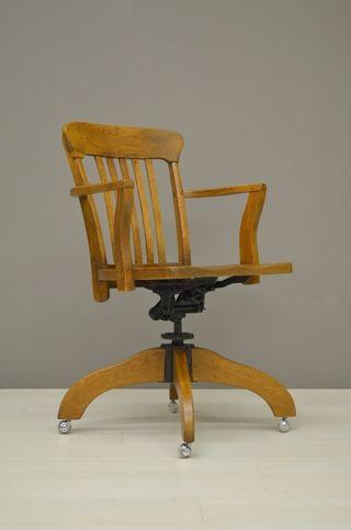 Houten Bureau Stoel.Houten Bureaustoel Wooden Desk Chair 21212 Huis In 2019