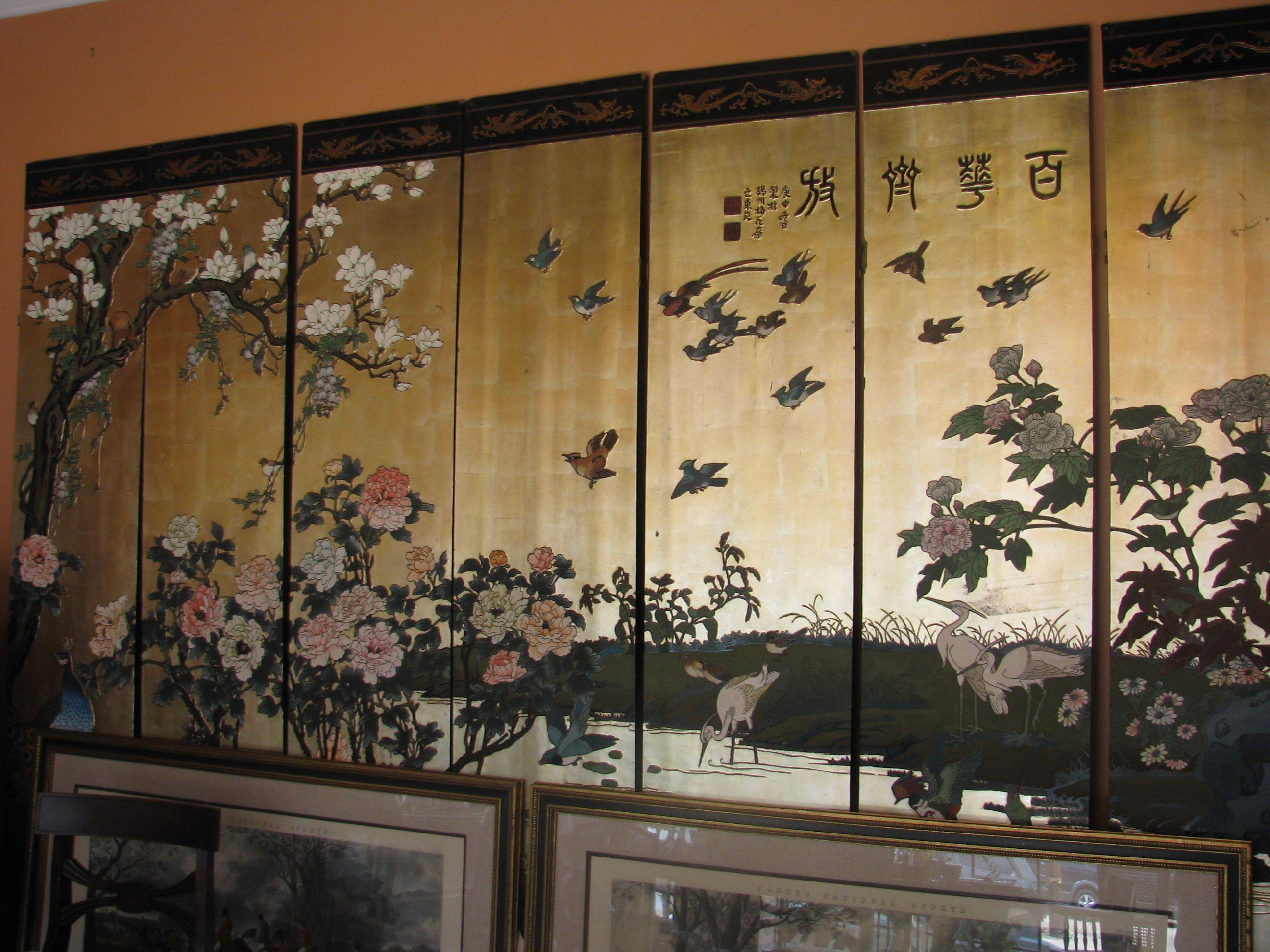 chinese screens room dividers Oriental Screen SCREENS