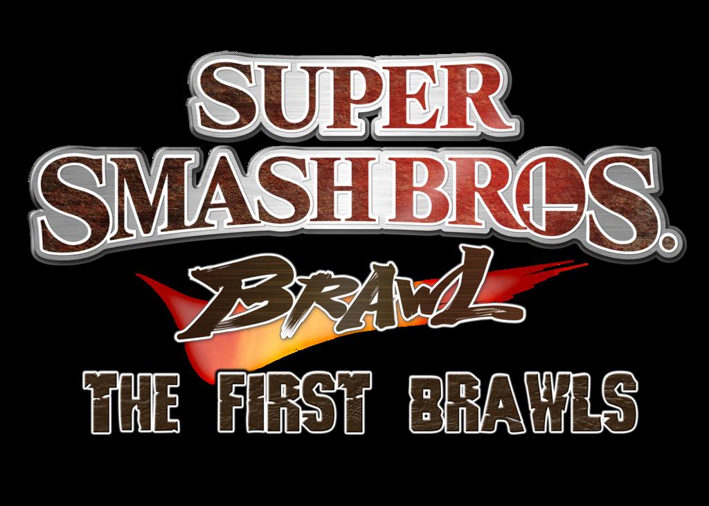 Super Smash Bros Brawl The First Brawls Logo By Kingasylus91 On Deviantart Smash Bros Super Smash Bros Logo Super Smash Bros Brawl