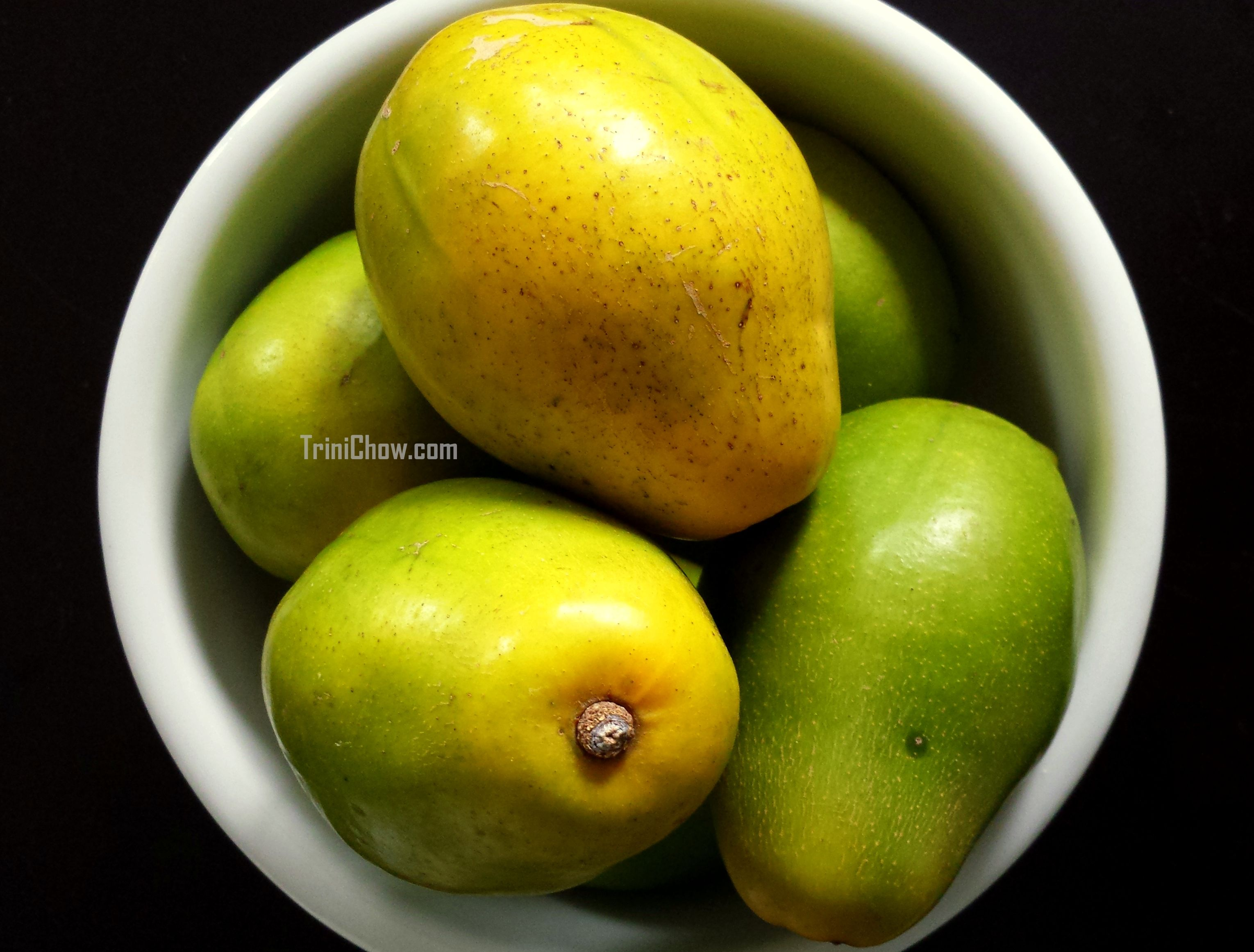 pommecythere golden apple fruits and vegetables of trinidad
