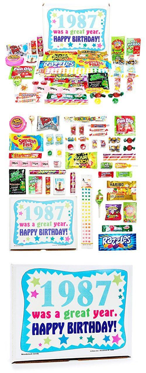Woodstock Candy 1987 31st Birthday Gift Box