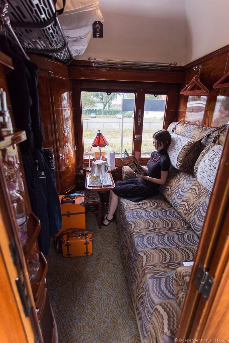 Belmond Venice Simplon Orient Express train cabin compartment washbasin sink