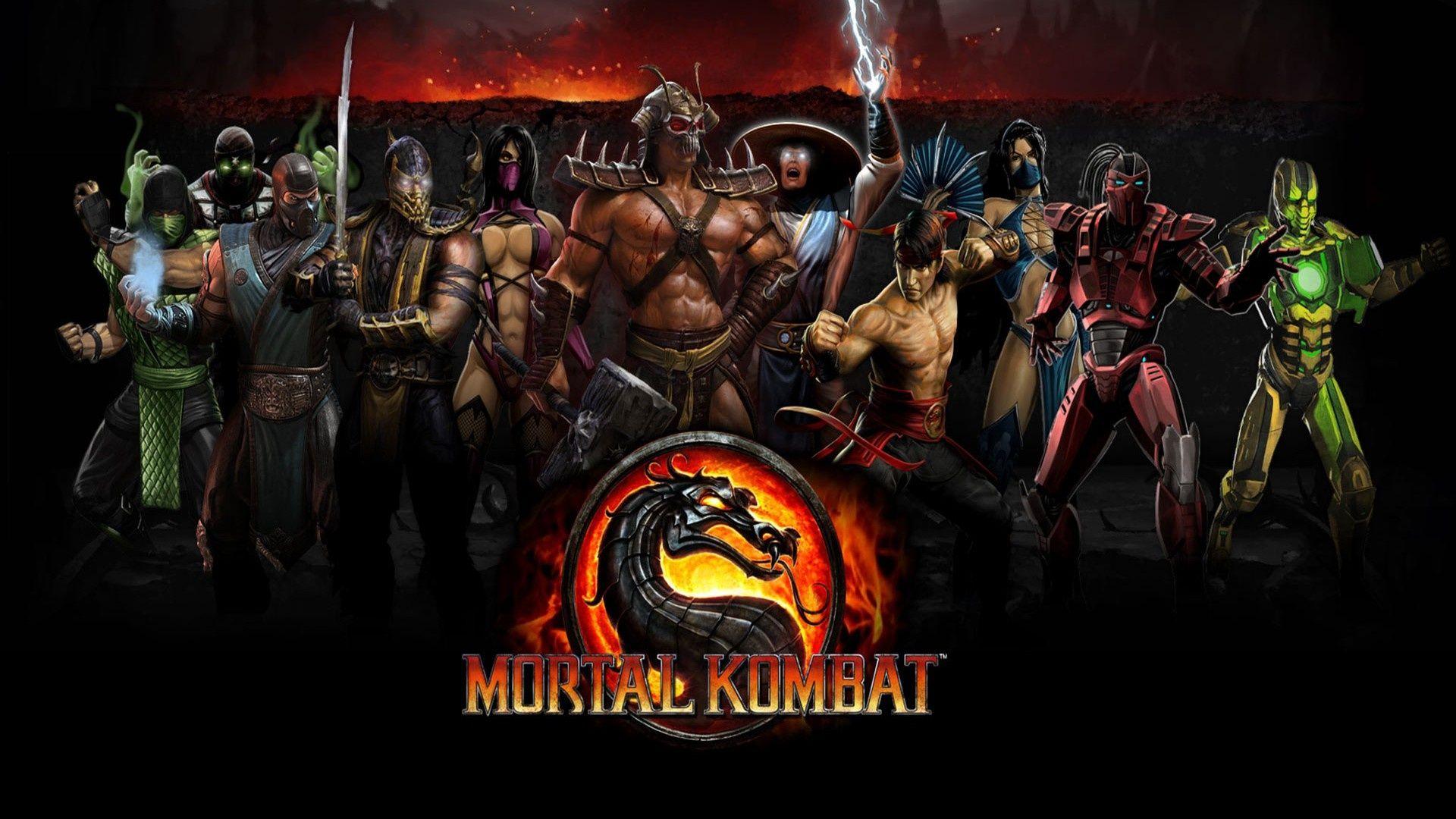 Обои логотип, смертельная битва, Mortal kombat x. Игры foto 17
