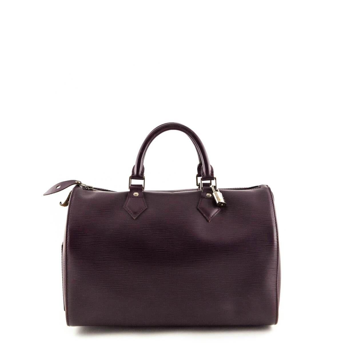 Louis Vuitton Plum Epi Speedy 35 - LOVE that BAG - Preowned Authentic  Designer Handbags - 24a625c50ab39