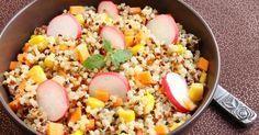 Salade minceur au quinoa et crudités express pour Lunchbox