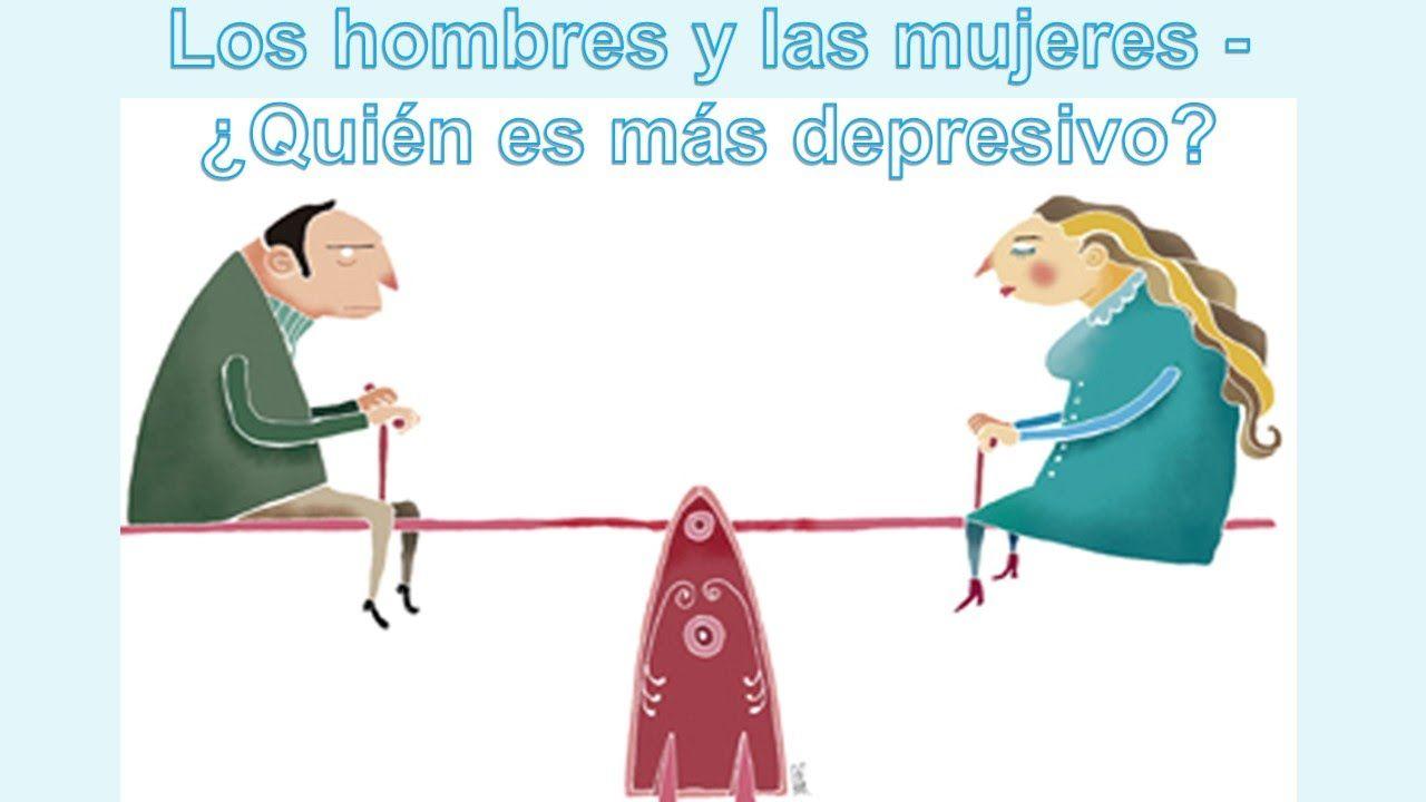 Los hombres y las mujeres   quién es más depresivo
